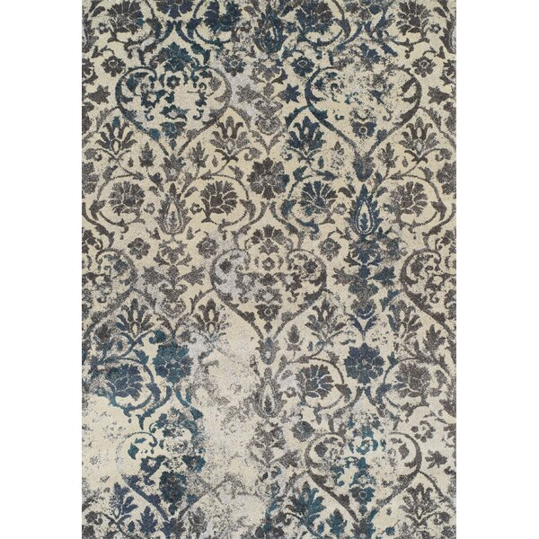 Theodora Teal Area Rug by Bungalow Rose