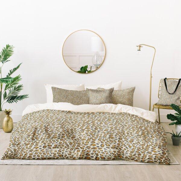 Holli Zollinger Deco Leopard Duvet Cover Set