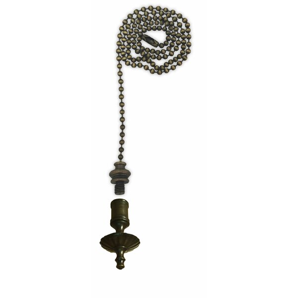 Fan Pull Chain with Umbrella Finial by Royal Designs