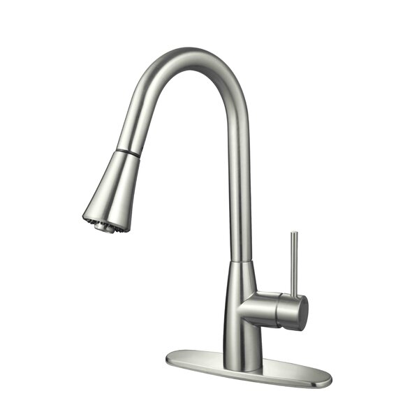 Single Handle Kitchen Faucet by Hardware House