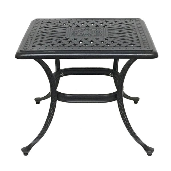 Beadle Metal Bistro Table by Darby Home Co