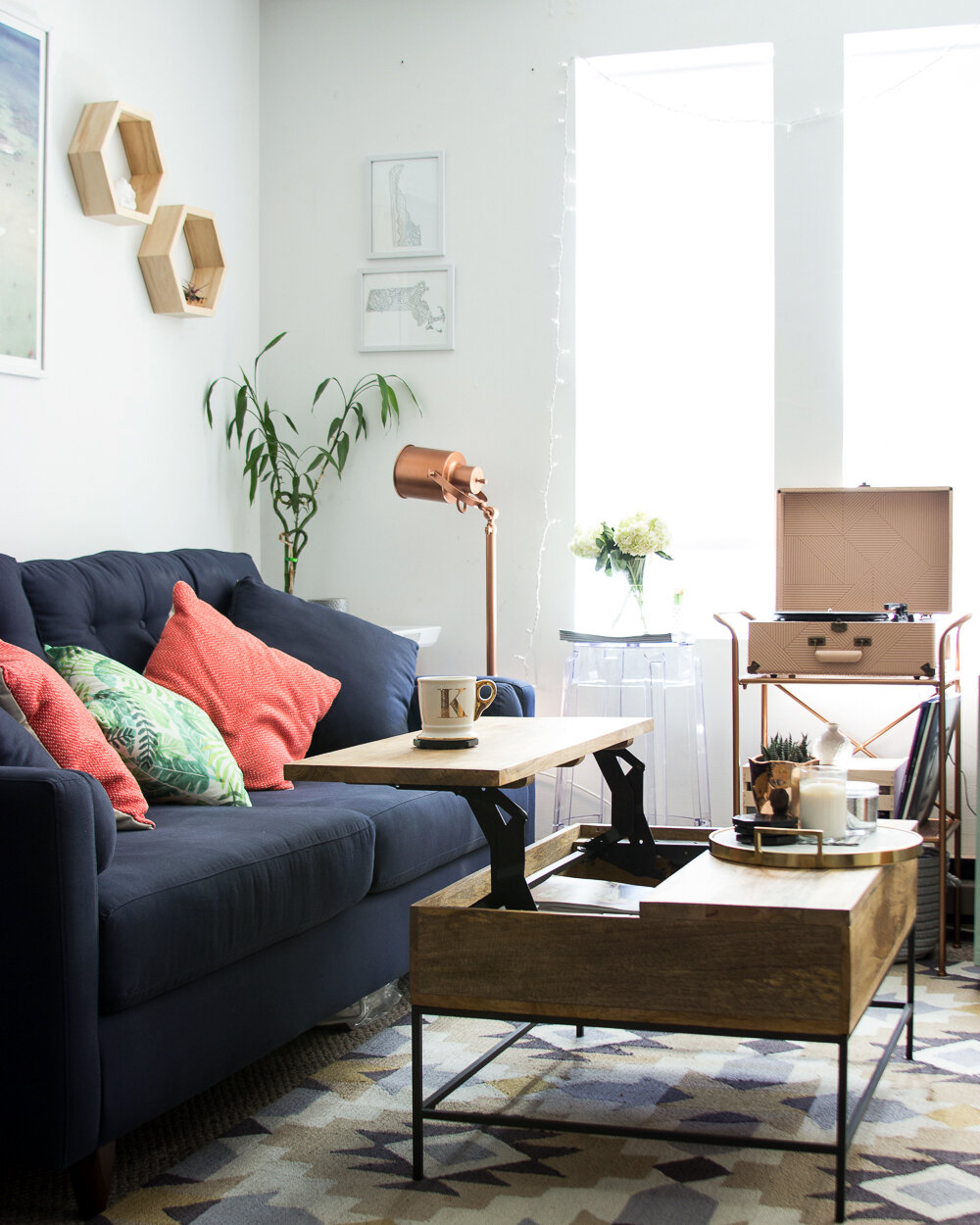 Room Tour A Millennial S Living Room Grows Up Wayfair