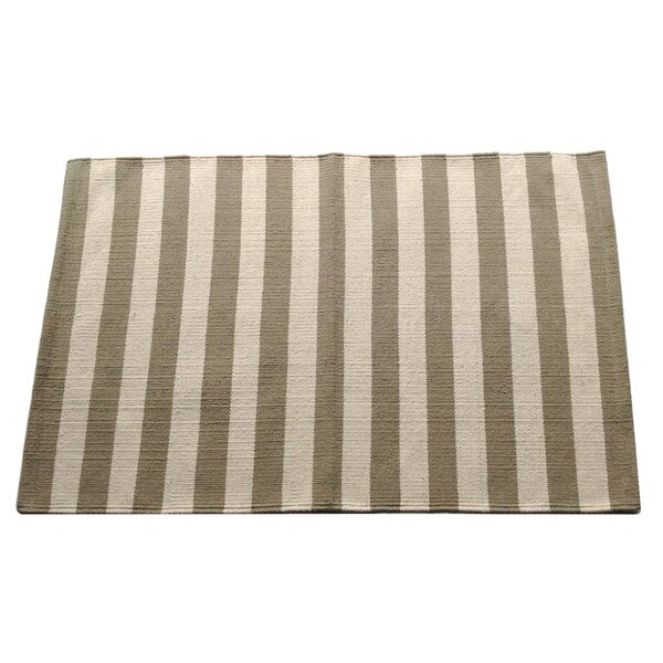 Narrow Stripe Safari Area Rug by Artim Home Textile