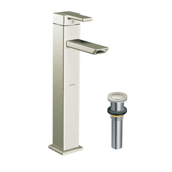 90 Degree Single-Handle Vessel Sink Bathroom Faucet By Moen