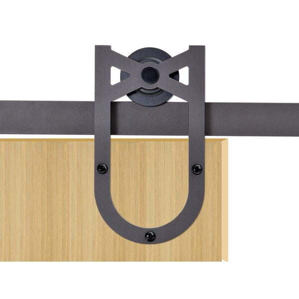 Horseshoe Style Sliding Door Track Barn Door Hardware by Calhome