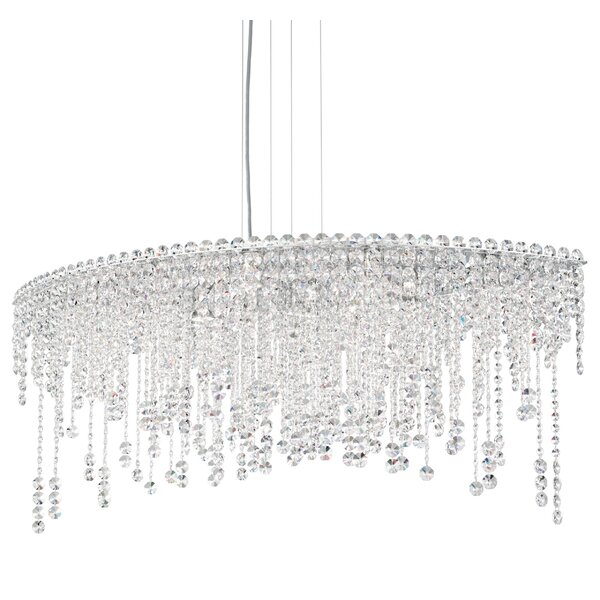 Chantant 8 - Light Unique / Statement Geometric Chandelier By Schonbek