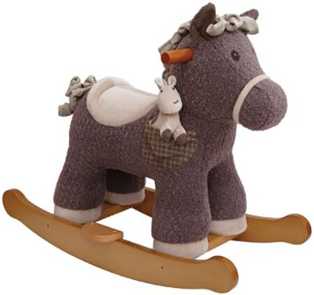 Bobble and Pip Rocking Horse by Little Bird Told Me