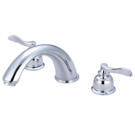 NuWave French Double Handle Tub Faucet by Kingston Brass