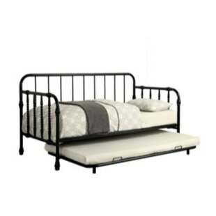 Valles Metal Twin Daybed with Trundle