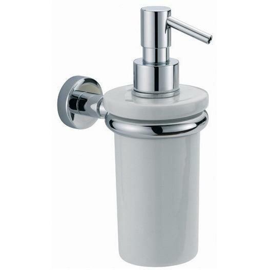 Sontag Wall Mounted Ceramic Soap & Lotion Dispenser by Orren Ellis