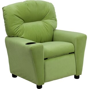 Mcewan Kids Recliner with Cup Holder by Latitude Run