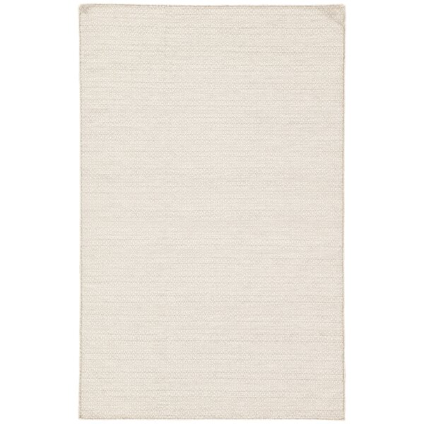 Finnerty HandWoven Wool Light Gray/Ivory Indoor Area Rug by Bungalow Rose