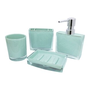 Zion 4 Piece Bathroom Accessory Set
