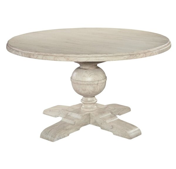 Slade Pedestal Extendable Dining Table by One Allium Way