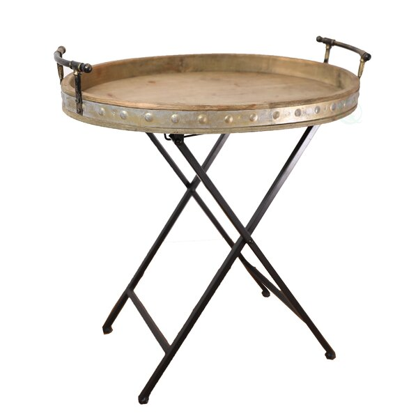 Zehr Folding Snack Tray Table by Gracie Oaks