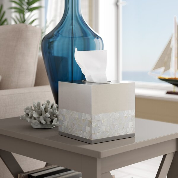 Mabry Boutique Tissue Box Cover by Rosecliff Heights