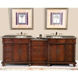 Harrow 90 Double Bathroom Vanity Set By Astoria Grand