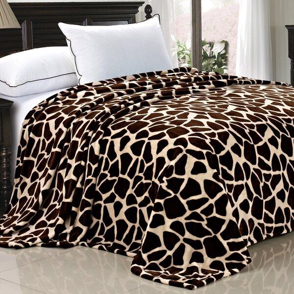 Safari Flannel Fleece Blanket by BOON Throw & Blanket