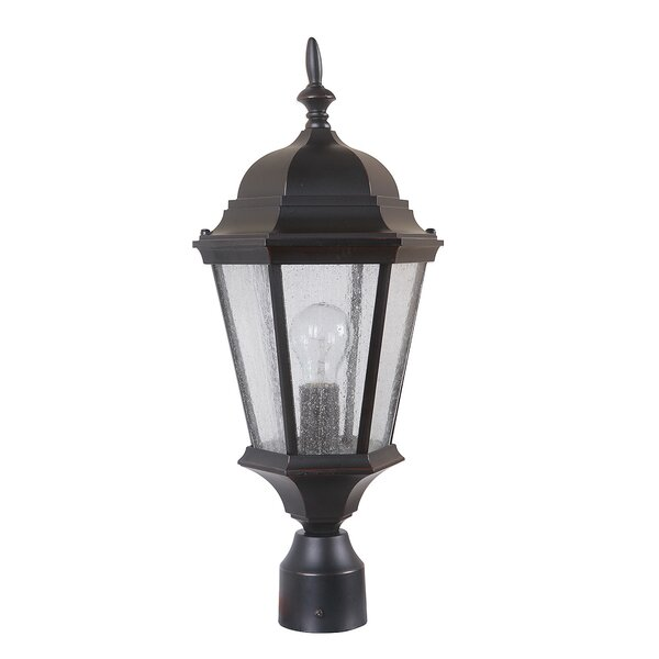 Lorie 1-Light Post Lantern by Darby Home Co