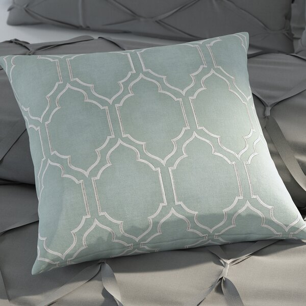 Libby Linen Throw Pillow by House of Hampton