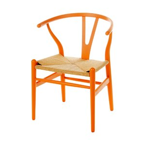 Wishbone Solid Wood Dining Chair by PoliVaz