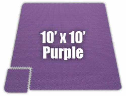 Premium SoftFloors Set in Purple by Alessco Inc.