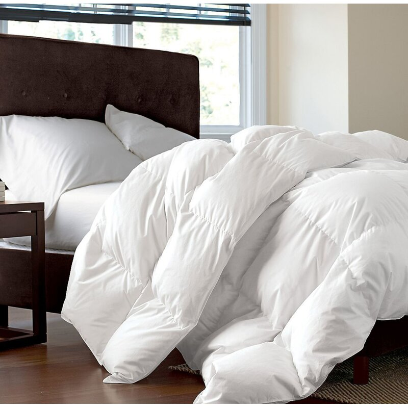 White Down Alternative Comforter Duvet Cover Insert Medium or Extra Warmth