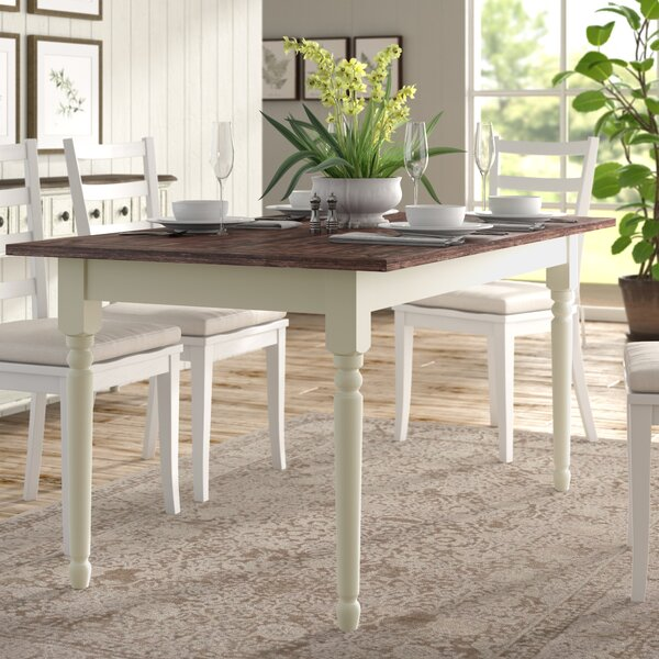 Asuncion Solid Wood Dining Table by Lark Manor Lark Manor