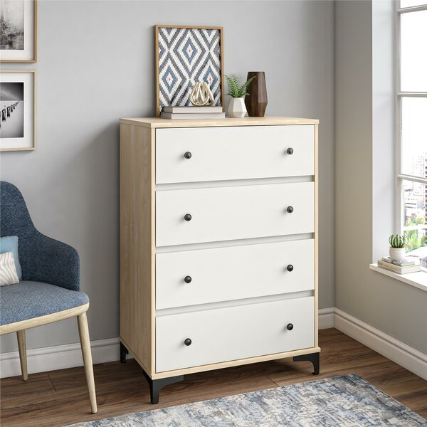 Karan 4 Drawer Chest by Isabelle & Max