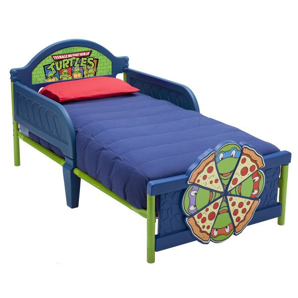 Ninja Turtles Convertible Toddler Bed by Delta Children