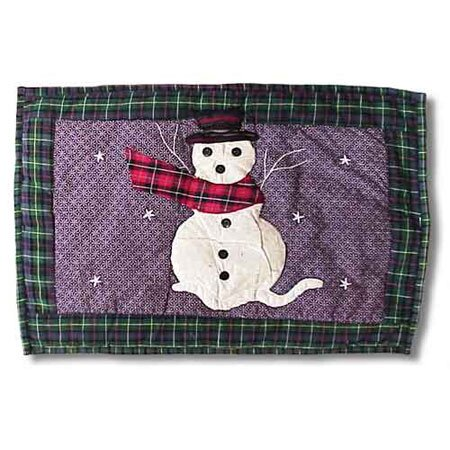 Snowman Placemat (Set of 4) by Patch Magic