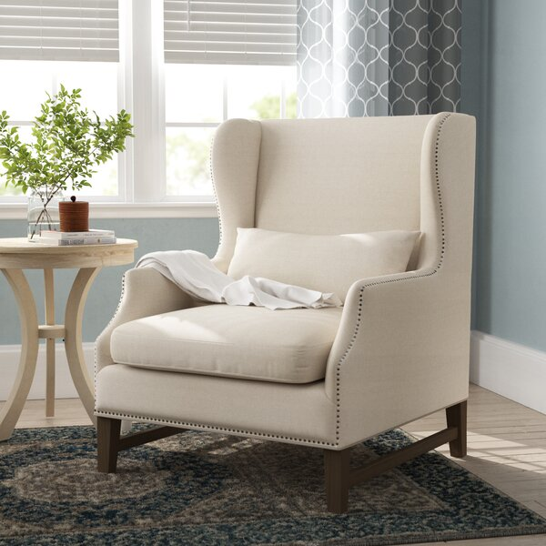 Samuelson Wingback Chair by Canora Grey Canora Grey