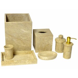 Wheaton 7 Piece Bathroom Accessory Set