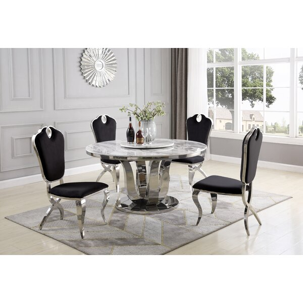 Ty 6 Piece Dining Set by Everly Quinn