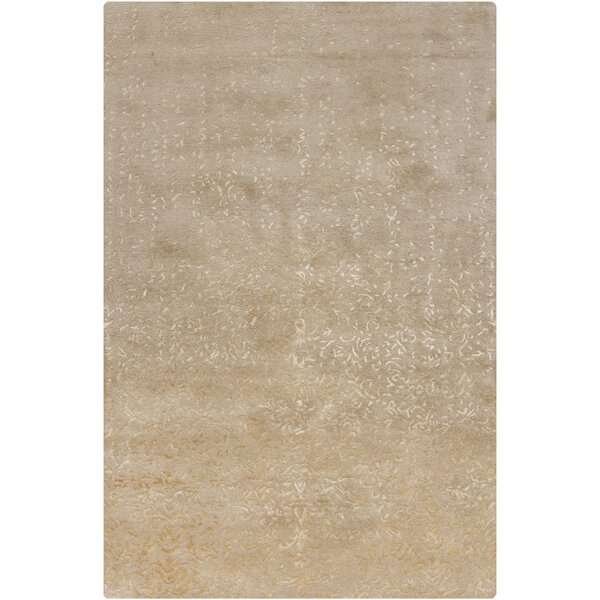 Holt Natural Abstract Area Rug by Rosdorf Park