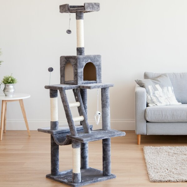 61 Plush Cat Tree by IRIS USA, Inc.