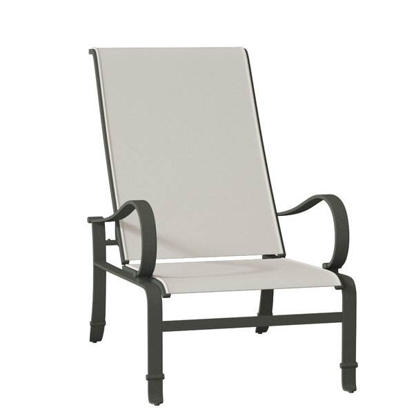 Torino Sling Recliner Patio Chair By Tropitone
