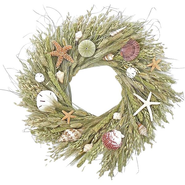 Seaside Grasses 22 Wreath by Dried Flowers and Wreaths LLC