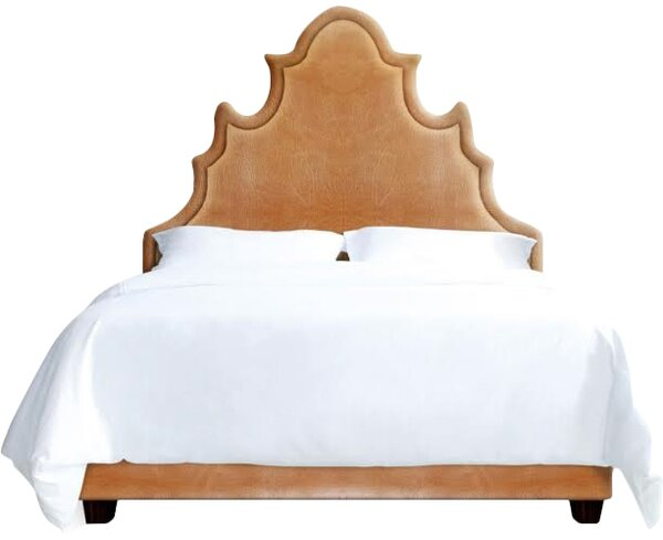 Sophie Upholstered Platform Bed by My Chic Nest