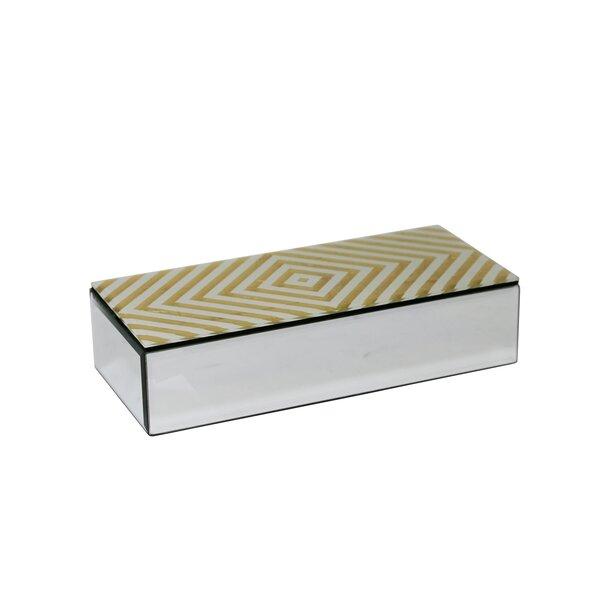 Roberge Wood/Glass Decorative Box by Mercer41