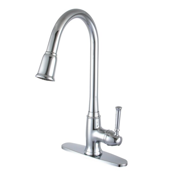 Faucets Pull Down Single Handle Kitchen Faucet by Yosemite Home Decor