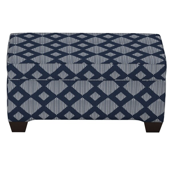 Pacetti Linen Upholstered Storage Bench by Brayden Studio