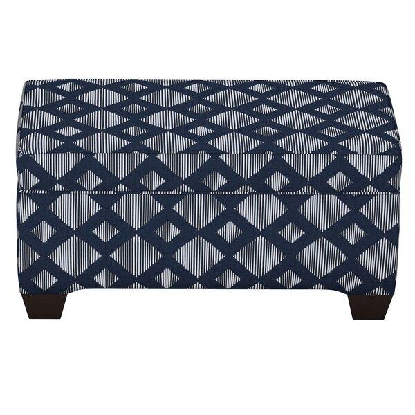 Pacetti Linen Upholstered Storage Bench by Brayden Studio Brayden Studio