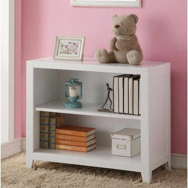 Wilford Wooden Standard Bookcase by Loon Peak