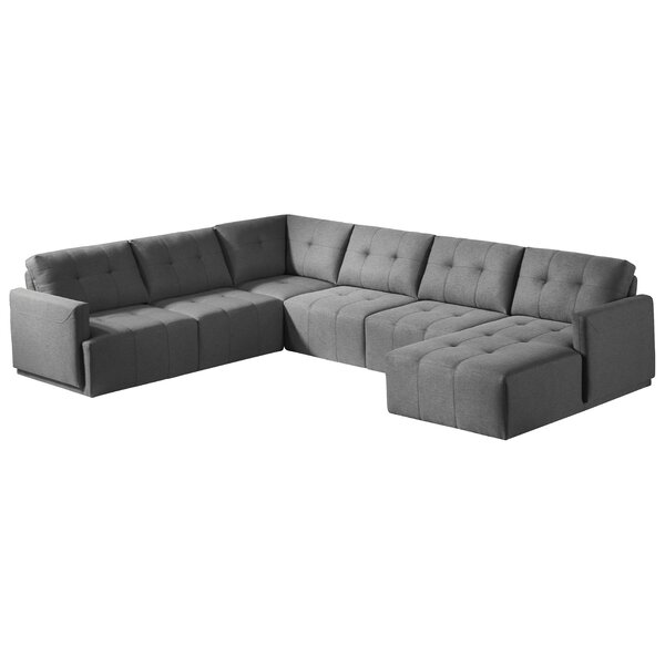 Morsun Sectional with Ottoman By Orren Ellis