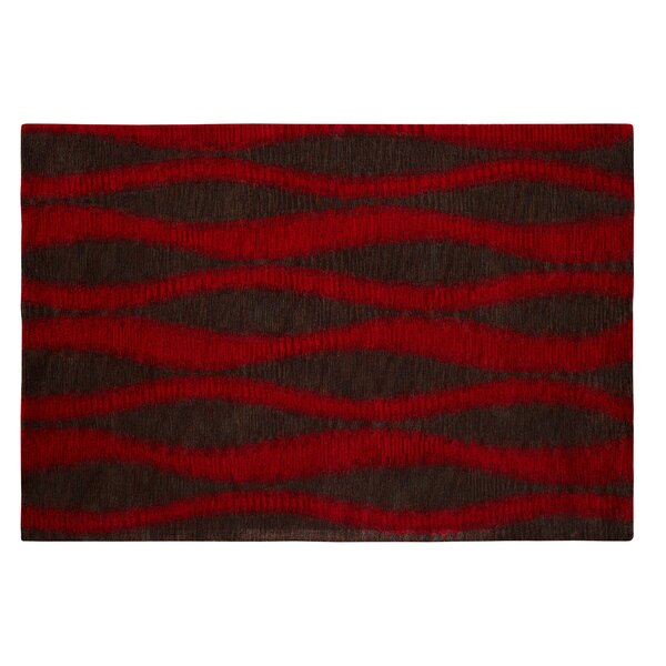Epic Red/Grey Rug by Dynamic Rugs
