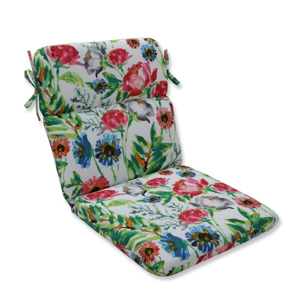 Flower Mania Petunia Indoor/Outdoor Dining Chair Cushion By August Grove
