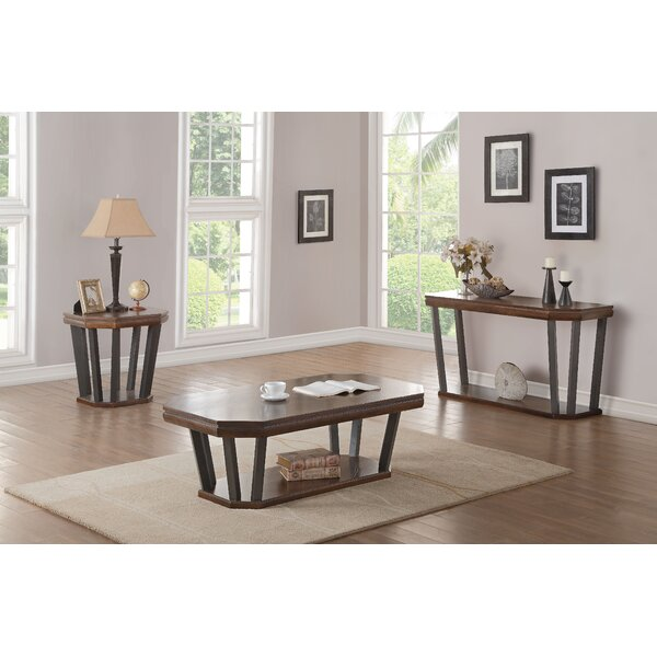 Bloomington 3 Piece Coffee Table Set by Foundry Select