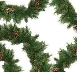 Pre-lit Yorkville Pine Artificial Christmas Garland by Northlight Seasonal