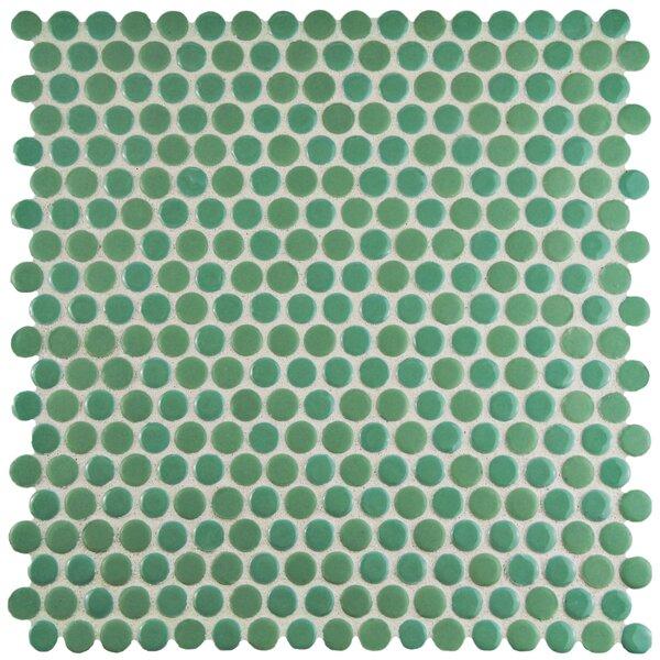 Astraea 0.62 x 0.62 Porcelain Mosaic Tile in Capri by EliteTile